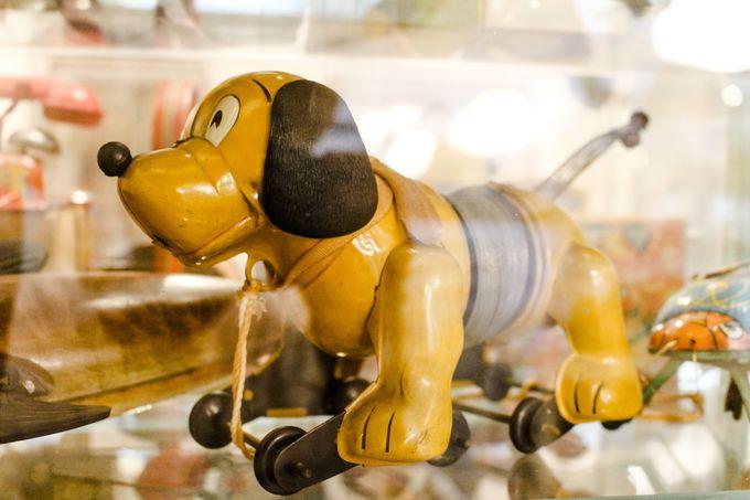 『トイ・ストーリー』スリンキー・ドッグのモデル