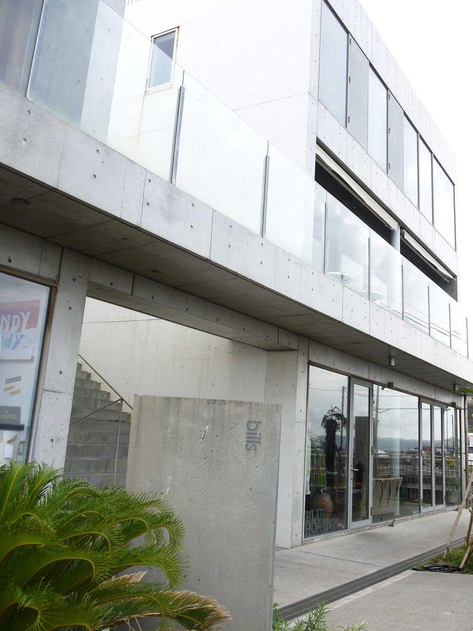 billsの海外初出店店舗、七里ヶ浜店へは江ノ電で