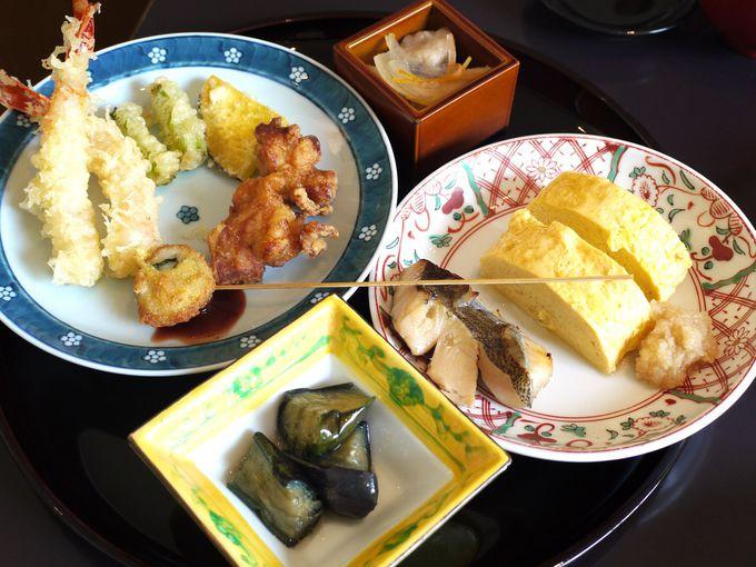 和食は1品1品が全ておいしい!
