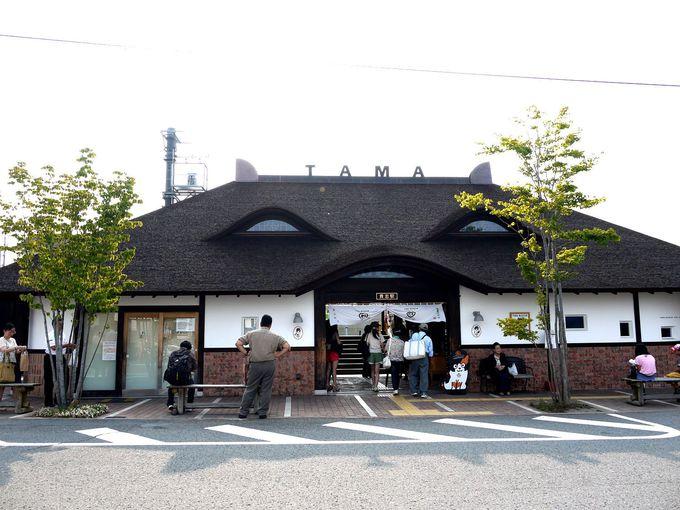 2010年にリニューアルした貴志駅駅舎