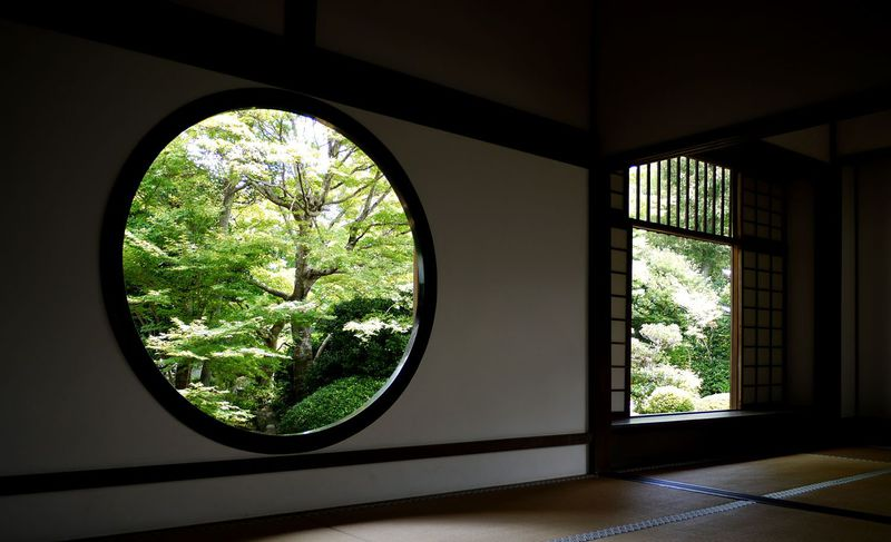 京都・源光庵 観光寺にはない本物の静寂を求めて‥元バスガイドがプライベートで通うお寺。