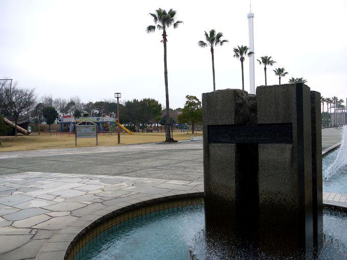 すぐ横の瀬戸大橋記念公園はお子さんが喜ぶ遊具がいっぱい