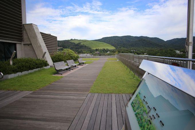 奈良の名所を一望!屋上広場