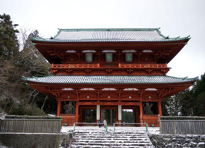 高野山の玄関口「大門」