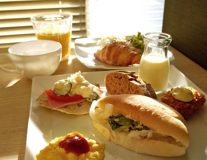 焼きたてパンでおしゃれな朝食を作ろう!