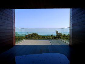 美しすぎる展望台&仰天しいたけバーガー!のと里山海道「別所岳サービスエリア」