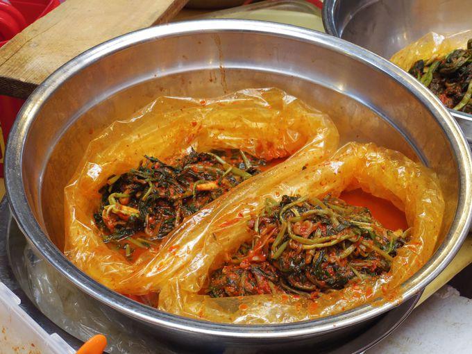 キムチ界の神的美味しさ。高菜キムチ!