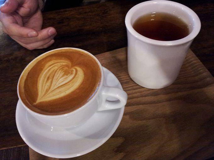 多数のコーヒーショップの中で絶大な存在感!一軒家カフェ『Fritz』