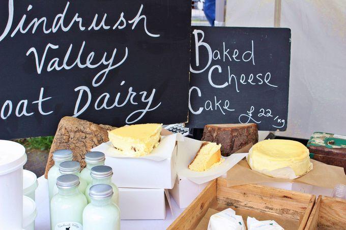 フレッシュさ満点!山羊のミルクのベイクドチーズケーキ