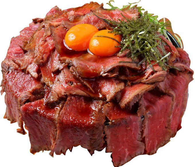 肉のダム⁉「キャメルダイナー京都店」のローストビーフ丼トリプル
