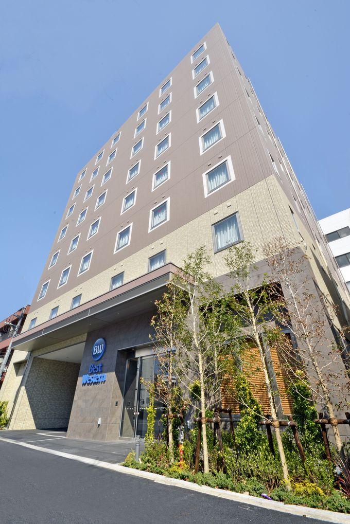 """既存の「ベストウェスタン東京西葛西」から徒歩3分。部屋はオール""""シモンズ""""ベッド!"""