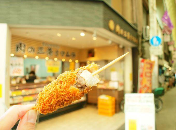 こちらも肉の名店「肉のイマムラ」