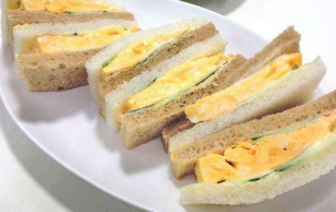 店員さんがイチオシする「前田珈琲」の絶品玉子サンド