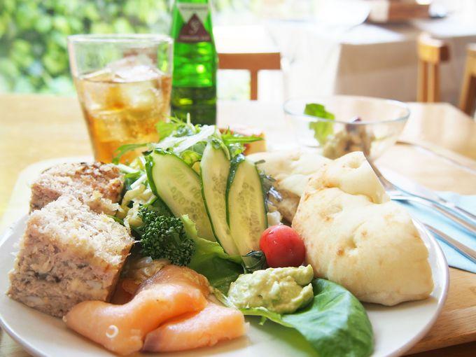 新鮮野菜モリモリのプレートは必食「Gallery&Cafe ジャック&豆の木」