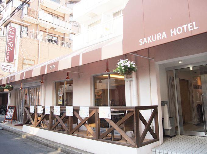 ホテル宿泊客以外も利用可能なカフェレストラン