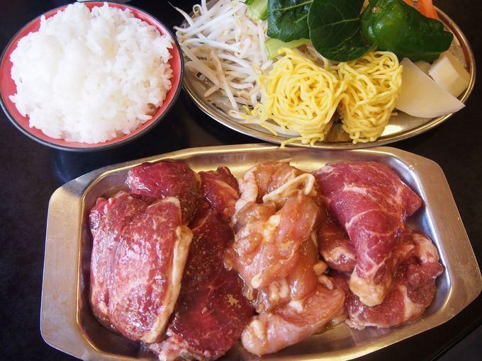 ジンギスカン60分食べ放題1000円の内容をご紹介!