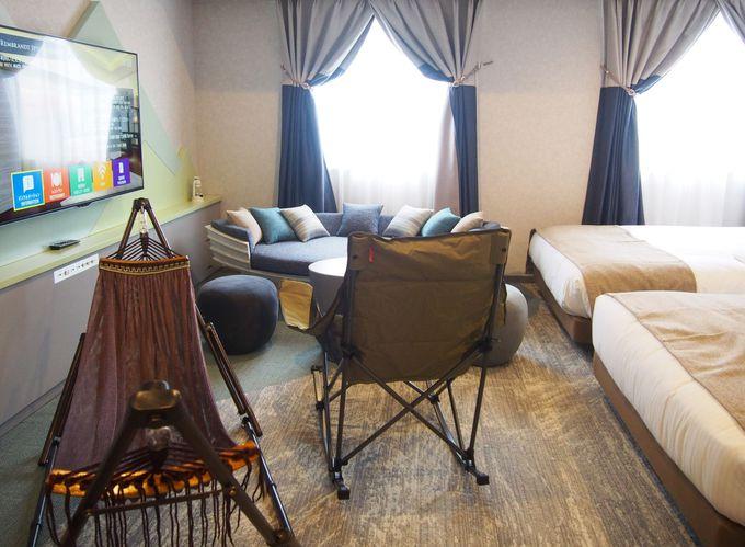 自然のぬくもりと現代モダンが融合した都会のホテル
