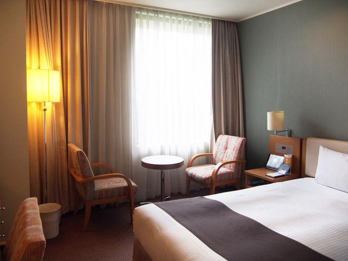 駅から徒歩5分、羽田からも便利なホテル