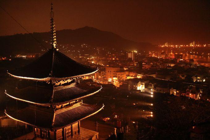 天寧寺の三重塔