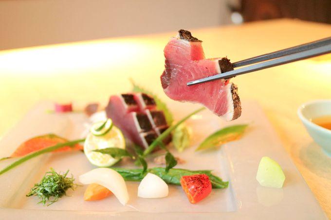 オーベルジュで頂く、目にも美味しい和会席料理