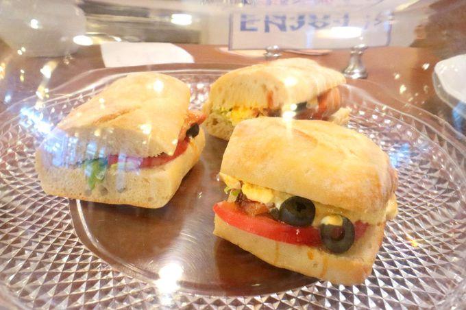 野菜ソムリエ監修のサンドイッチ