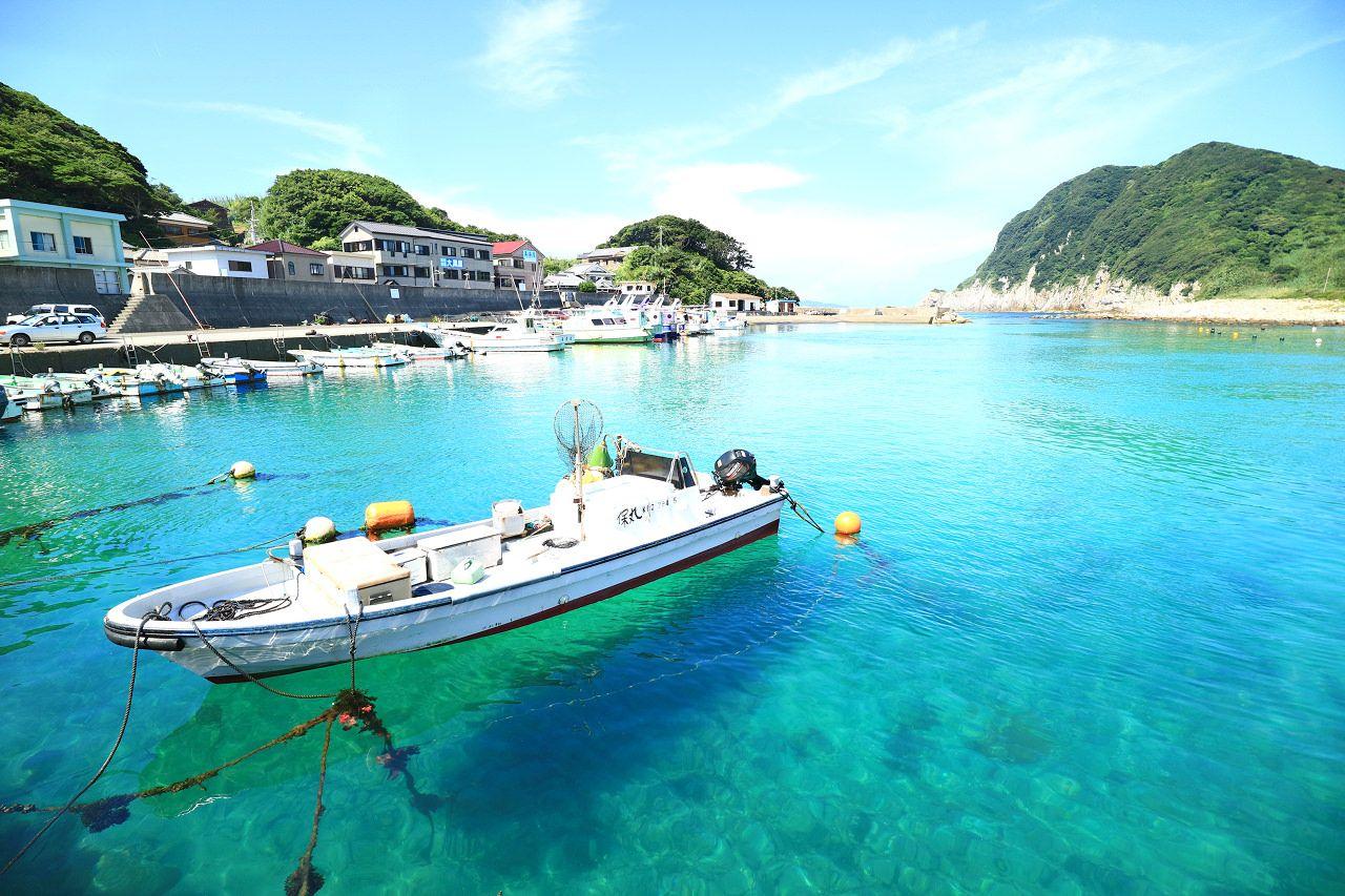 ホントは秘密にしておきたい!透明度抜群な高知・柏島の海で海水浴