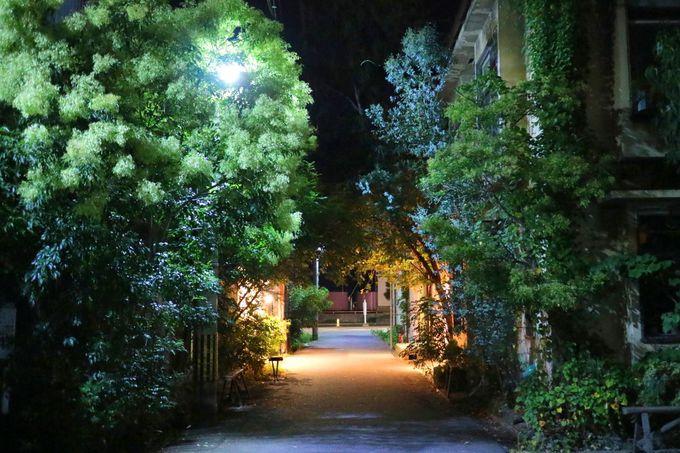 元倉庫を再利用した、レトロな雰囲気が魅力の「北浜alley」