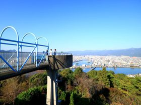 「五台山展望台」で龍馬カプチーノと高知市内パノラマビューを堪能!