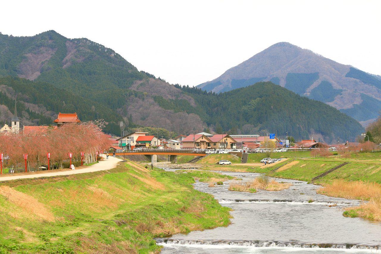 かつての宿場町が今や桜の名所!岡山・新庄村「がいせん桜」 | 岡山県 ...