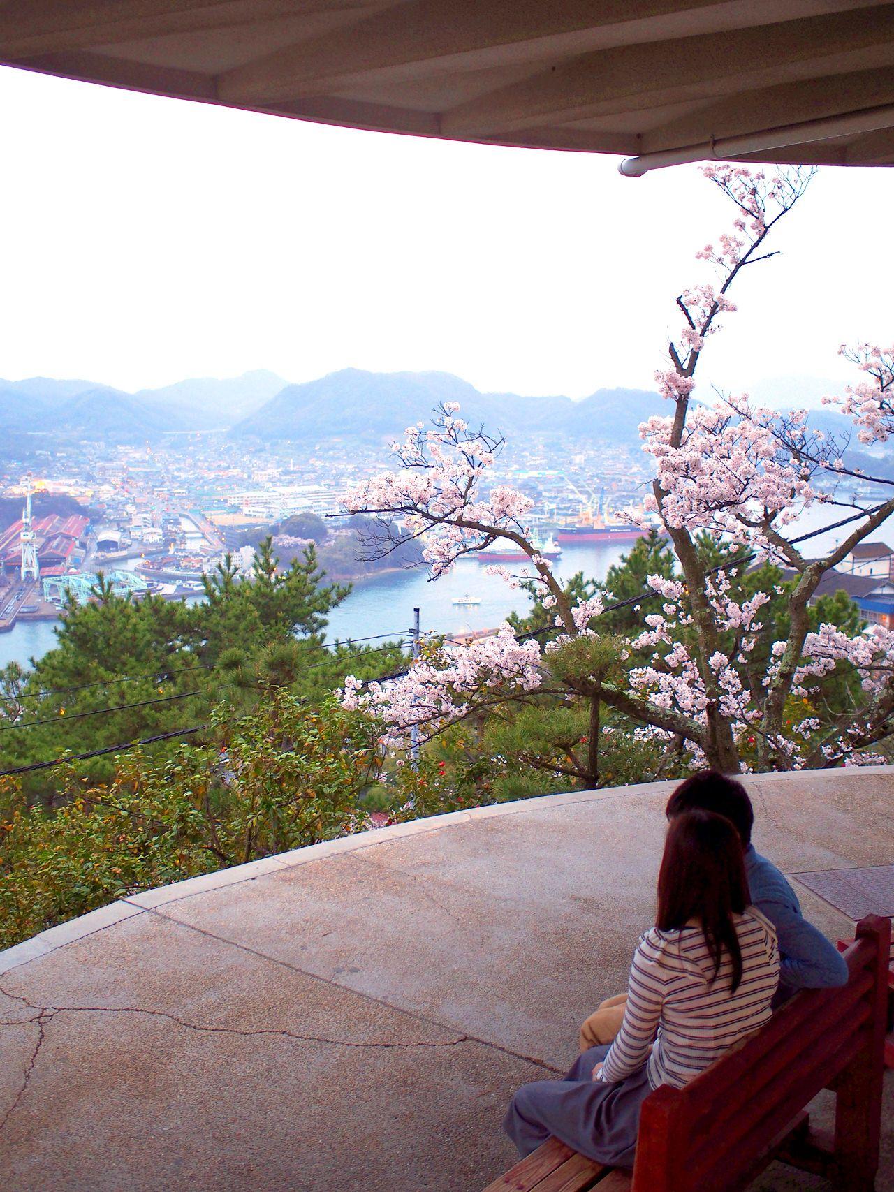 千光寺公園の山頂にはレストランもある展望台が!
