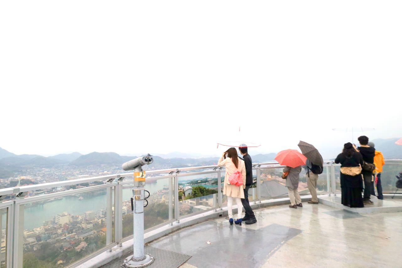 展望台からの眺めは絶景!