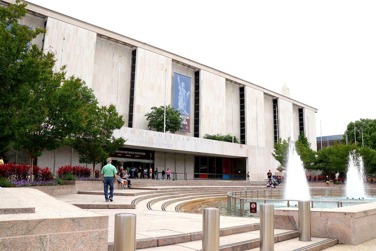 展示物のバリエーションが豊富な「国立アメリカ歴史博物館」