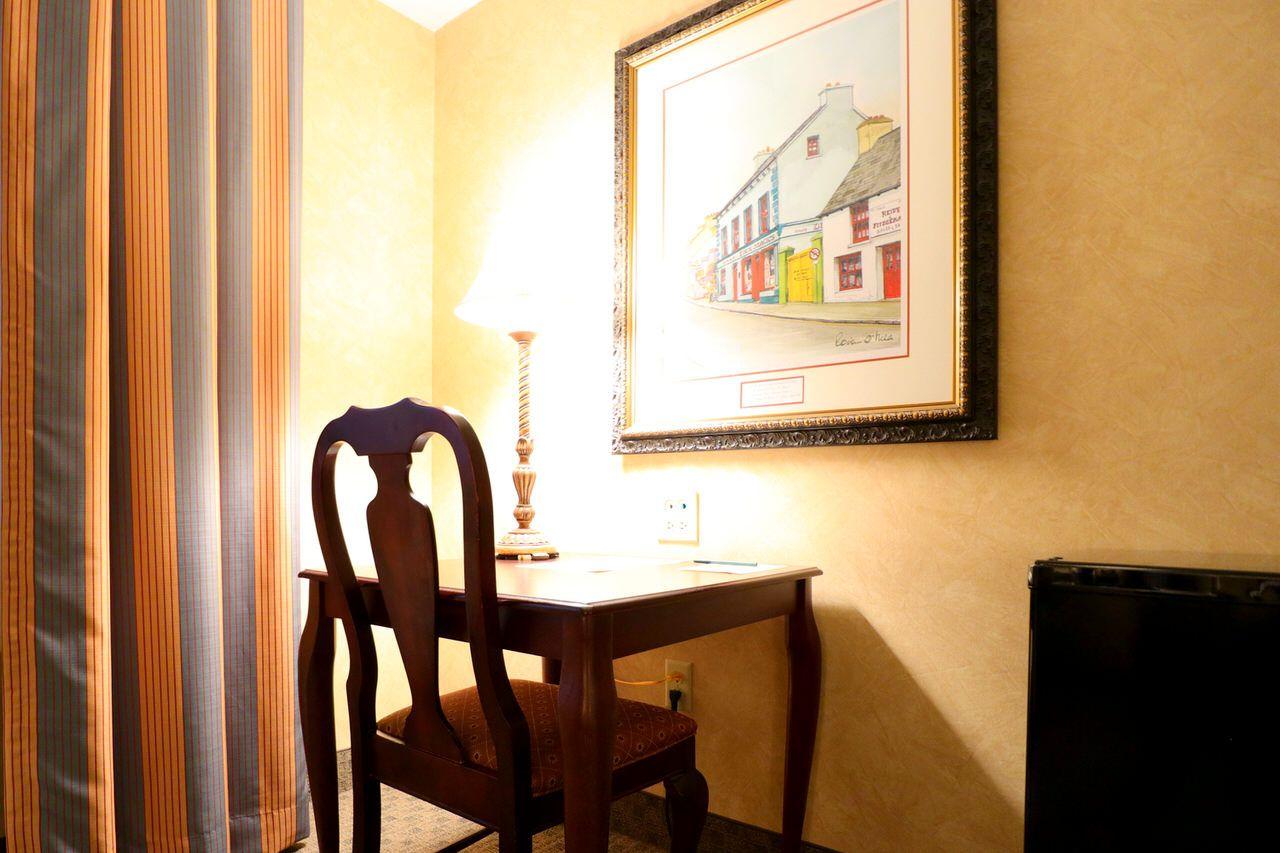 アートワークが素敵な客室