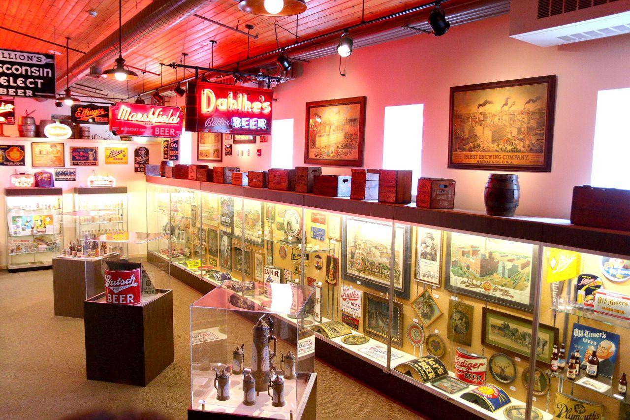博物館とレストランが併設されてるブリュワリー