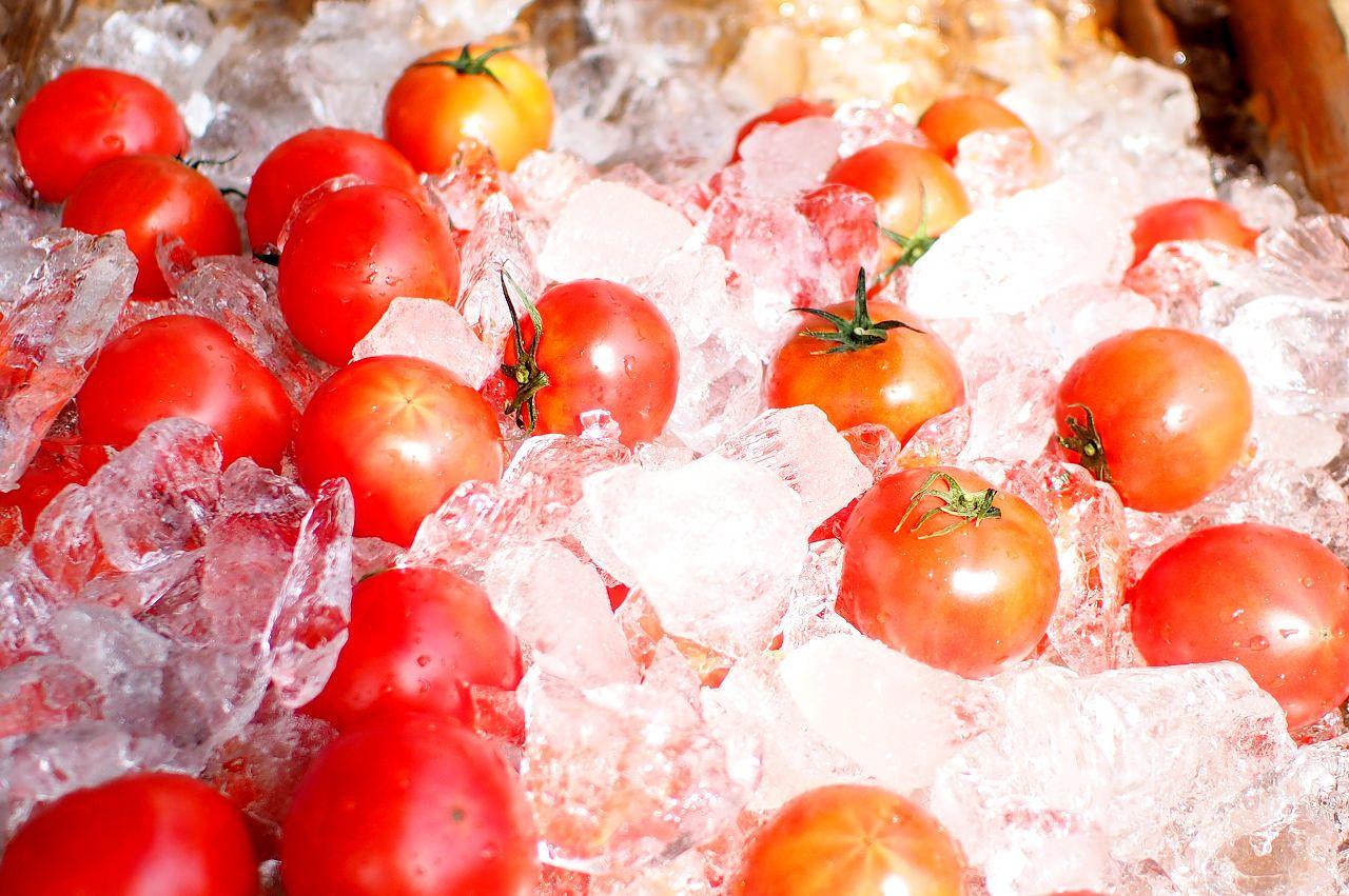是非食べて見て!甘い徳谷トマトと文旦!