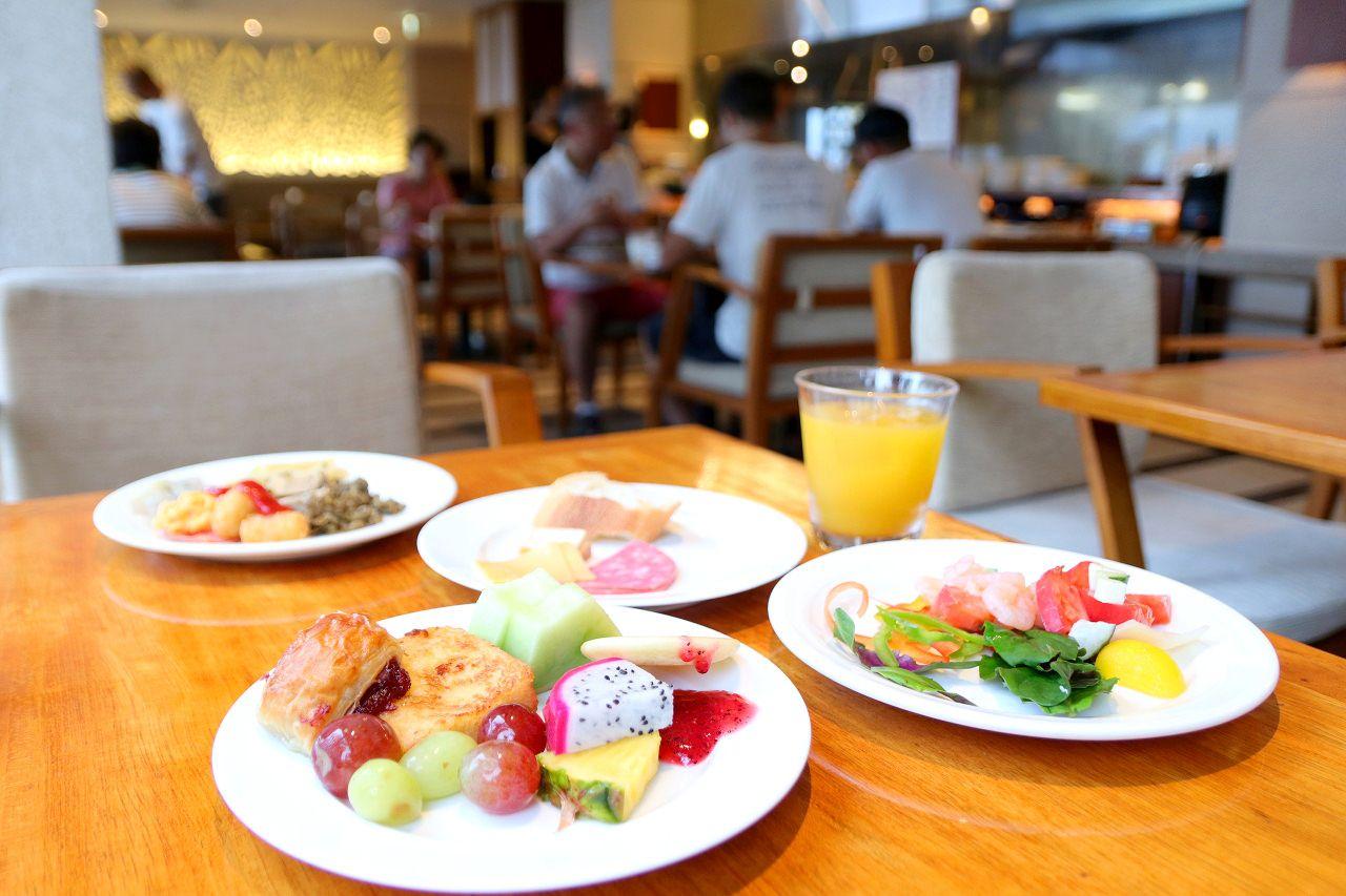 「ザ・オレンジ」で頂く洋食ブレックファストブッフェ