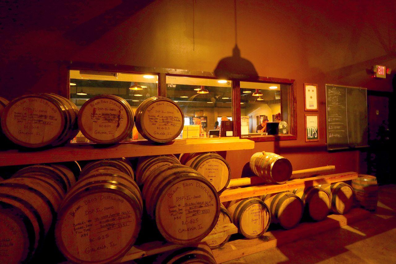ウイスキーの香りに酔いしれる!イリノイ州「ブラウムブラザーズ・ディスティリング社」