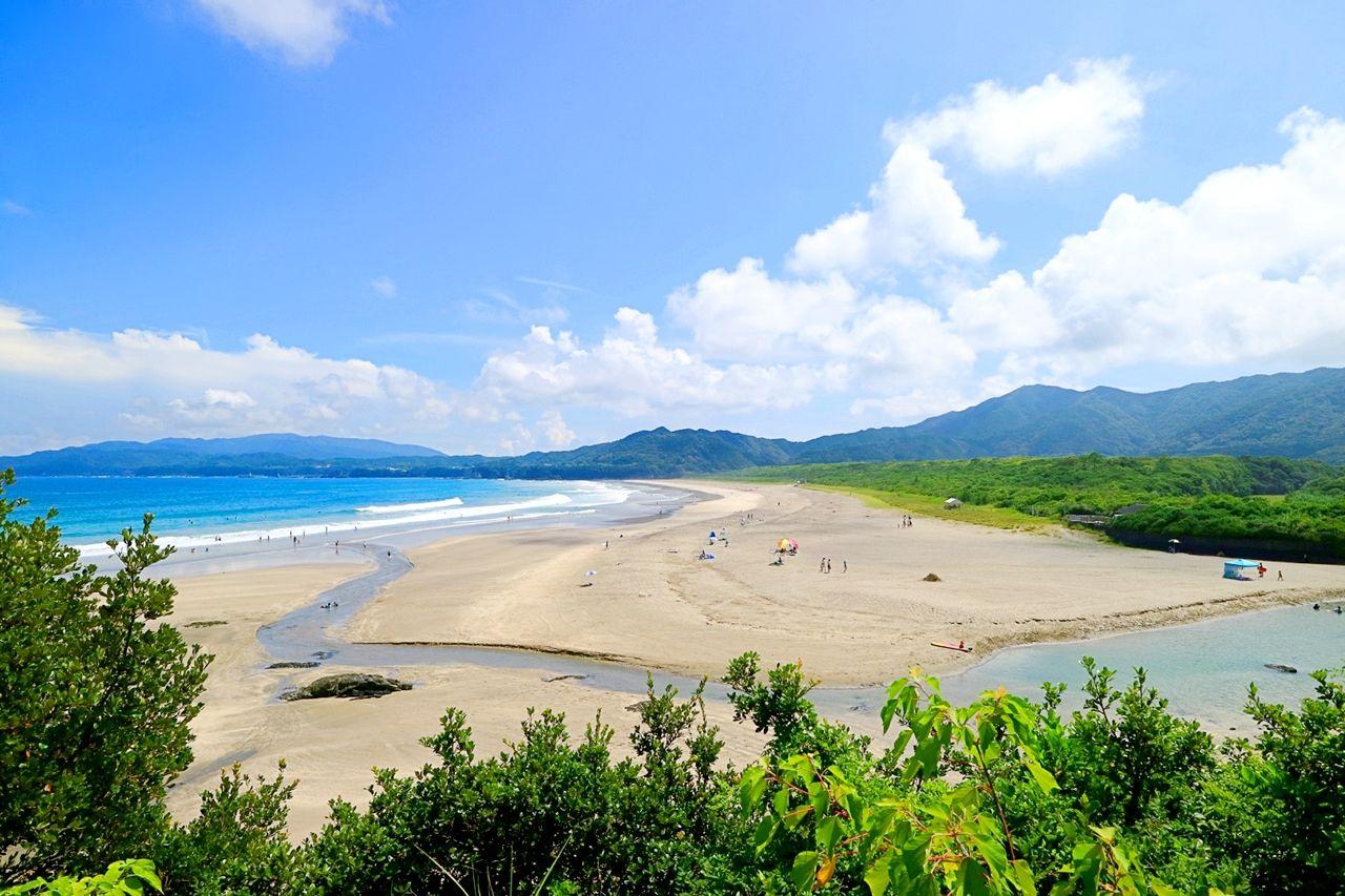 遠浅の絶景ロングビーチ!高知「大岐海岸」で夏満喫!