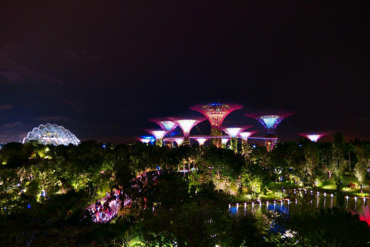 360度楽しめる!パノラマビューの夜景