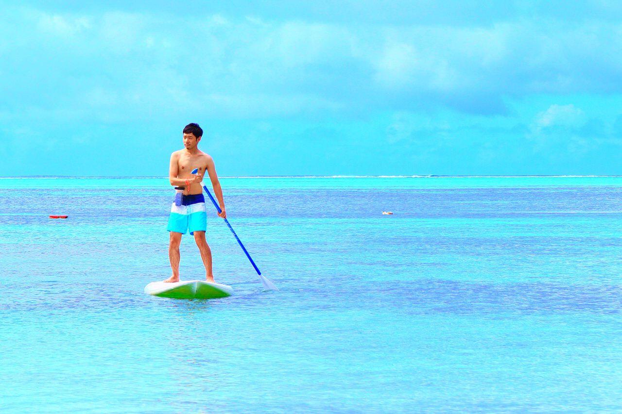 サイパン2日目:「サイパンワールドリゾート」でビーチアクティビティ!