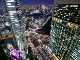 高層階からの夜景必見!ザ ロイヤルパークホテル 東京汐留