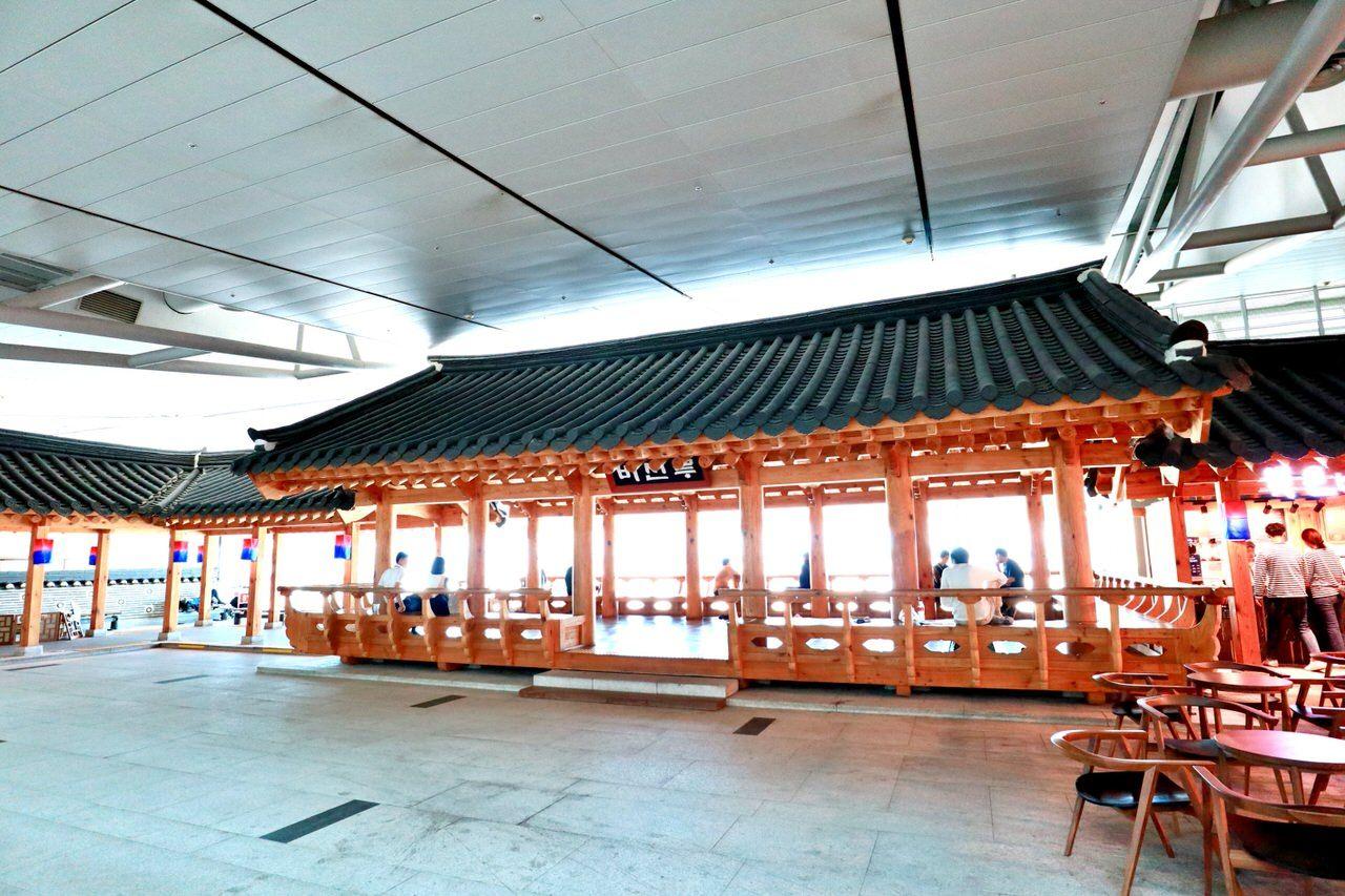 韓国の文化を感じられる第1ターミナル