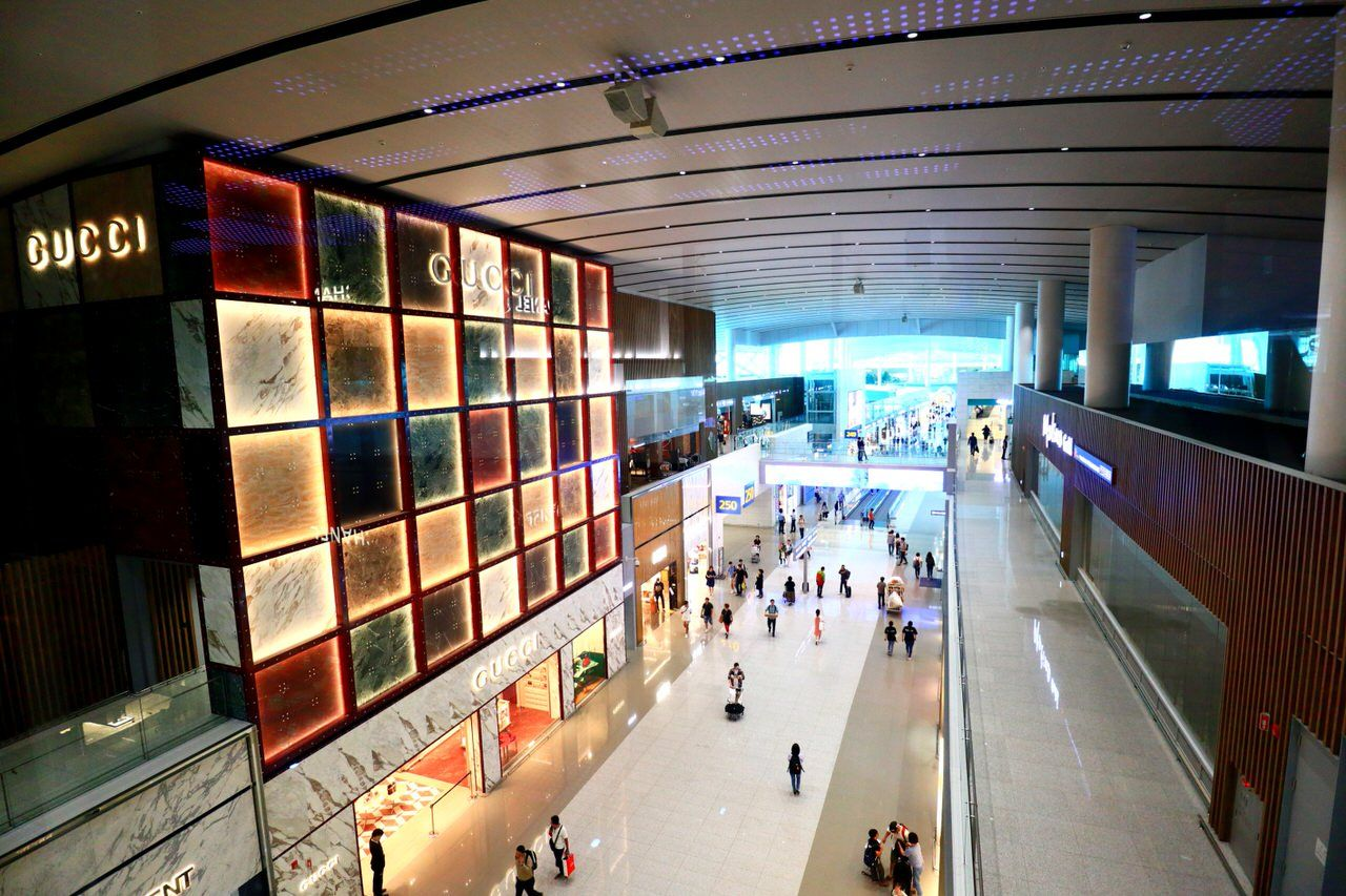 デザイン性の高い第2ターミナル