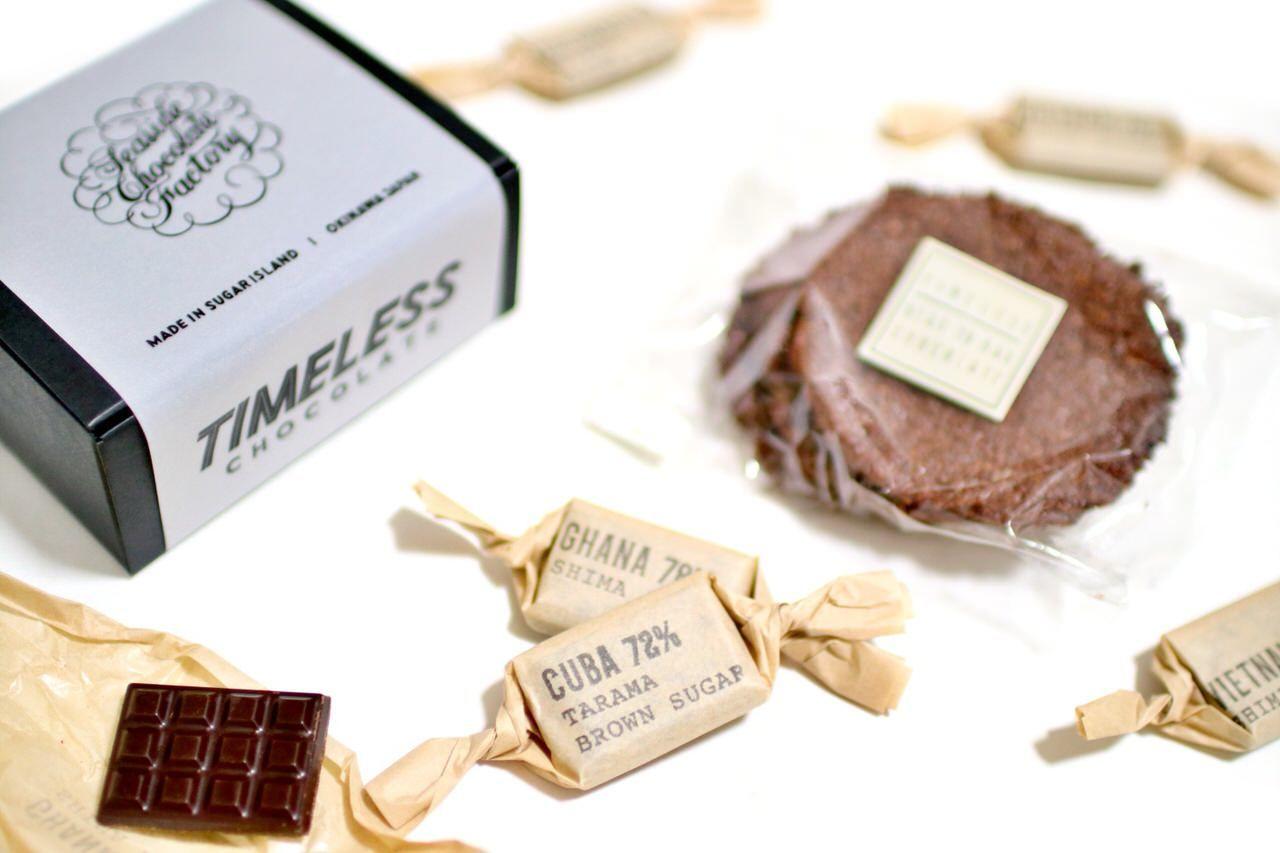 沖縄県産や鹿児島県産の砂糖を使用した無添加チョコ