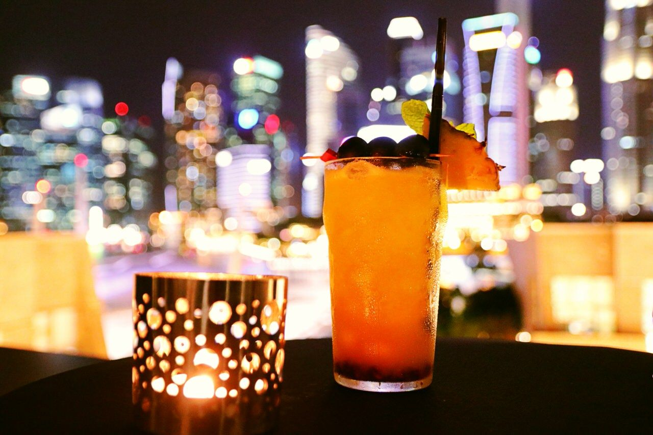 夜はバーで 「シンガポール・スリング」