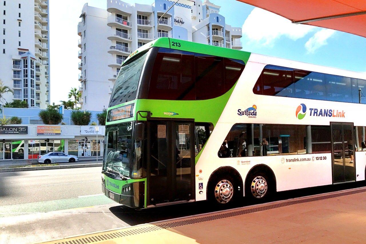 空港から繁華街へはバスが便利!
