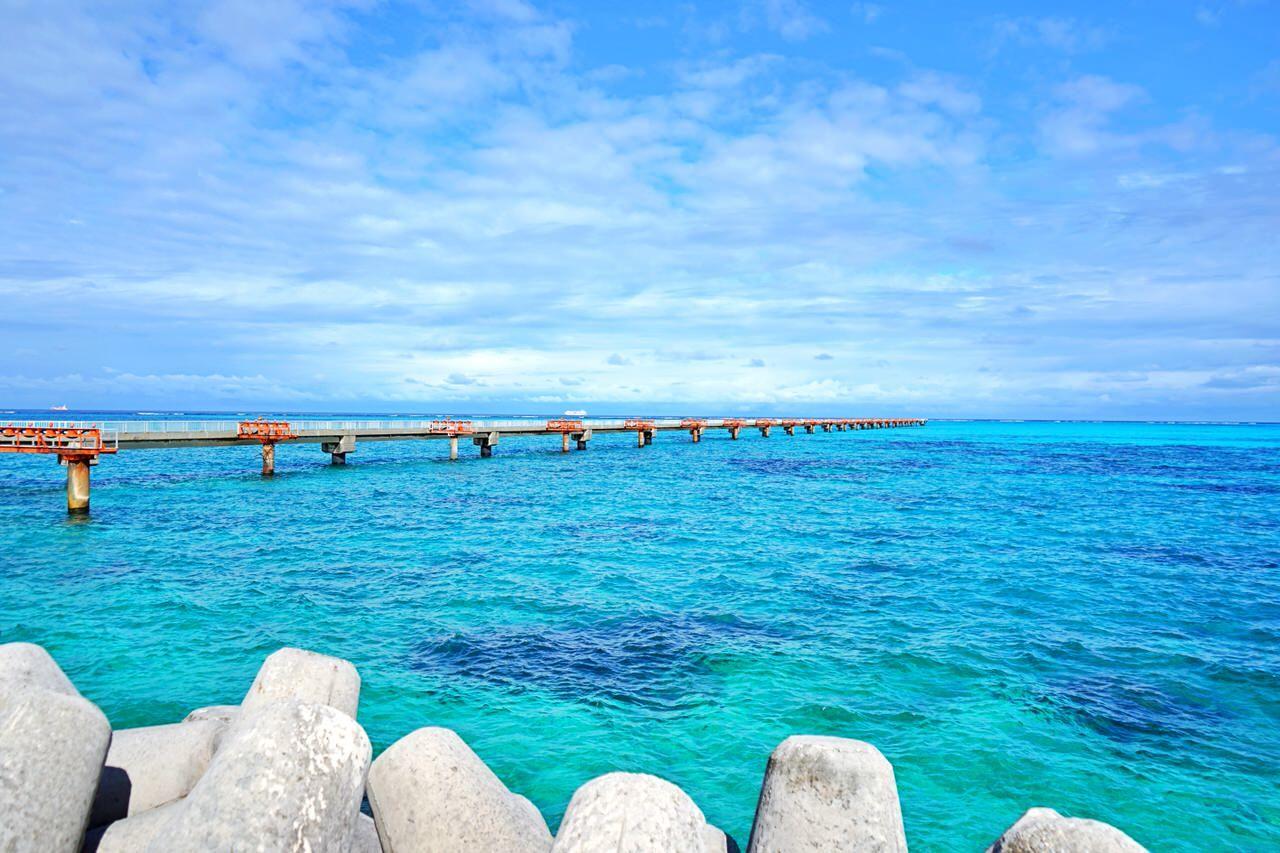 1.LCC就航で話題!春は沖縄「下地島」で絶景女子旅