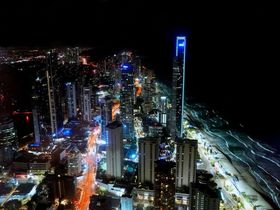 ゴールドコースト「スカイポイント展望台」は夜景も楽しめる絶景スポット