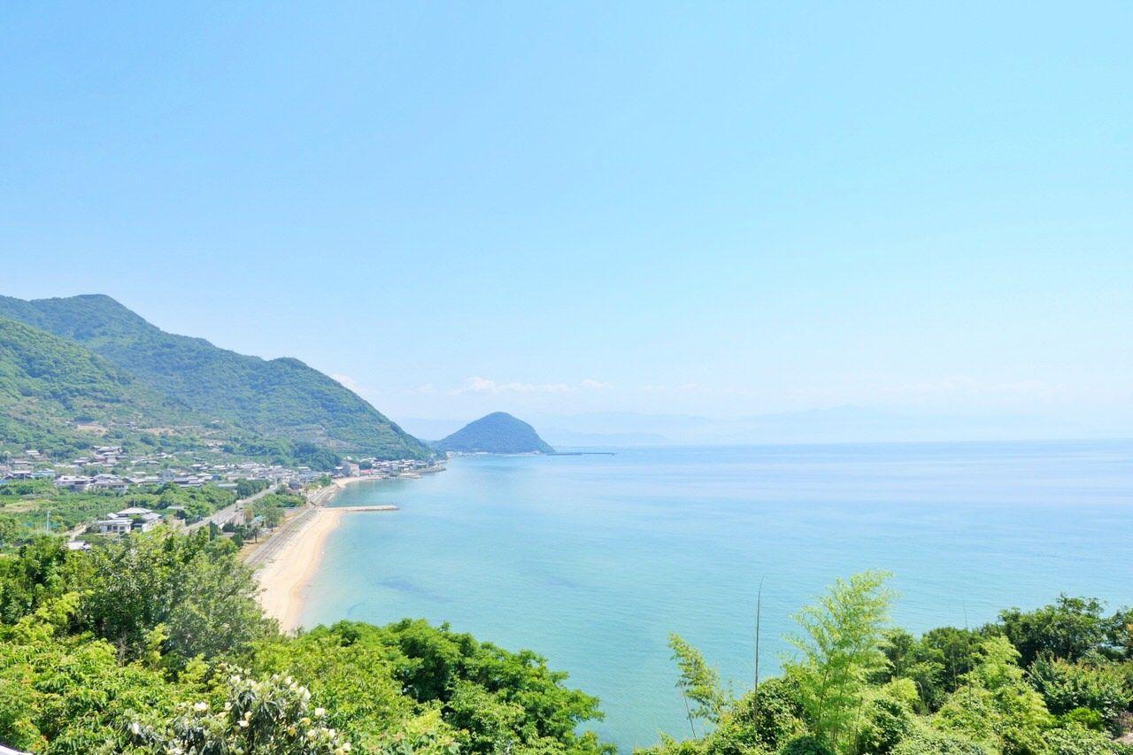 「父母ヶ浜」にも近く、風光明媚なエリア