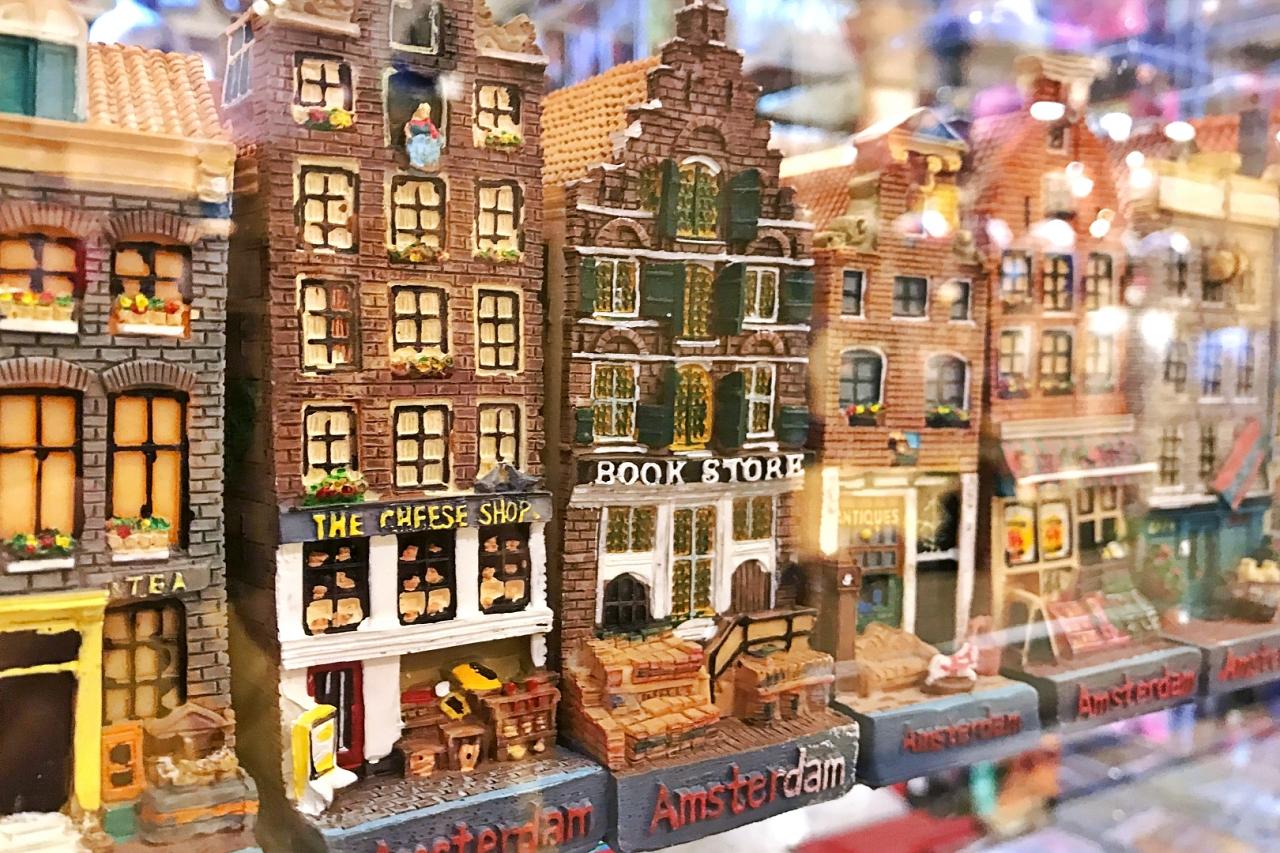 アムステルダムの街並みグッズ